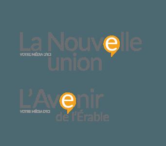 logo La Nouvelle, l'Union et l'Avenir de L'érable