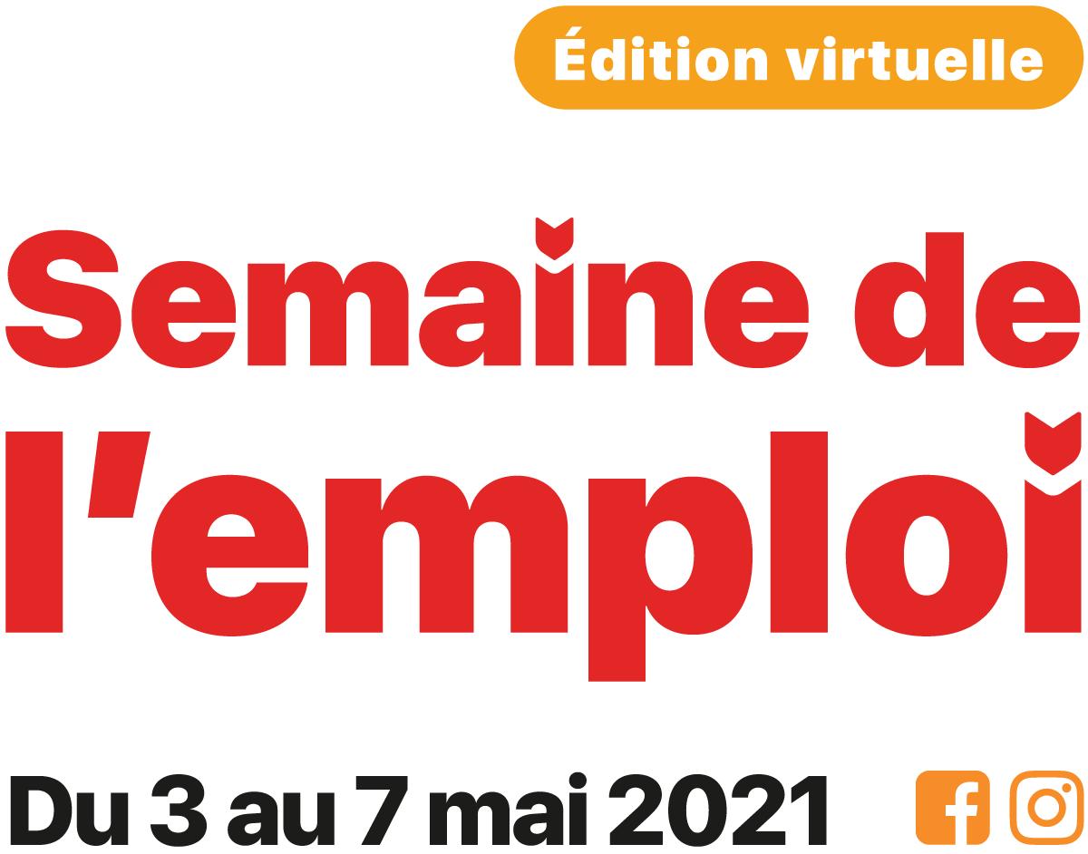 signature semaine virtuelle de l'emploi